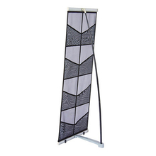 Mesh Double A4 Brochure Stand E07B1D