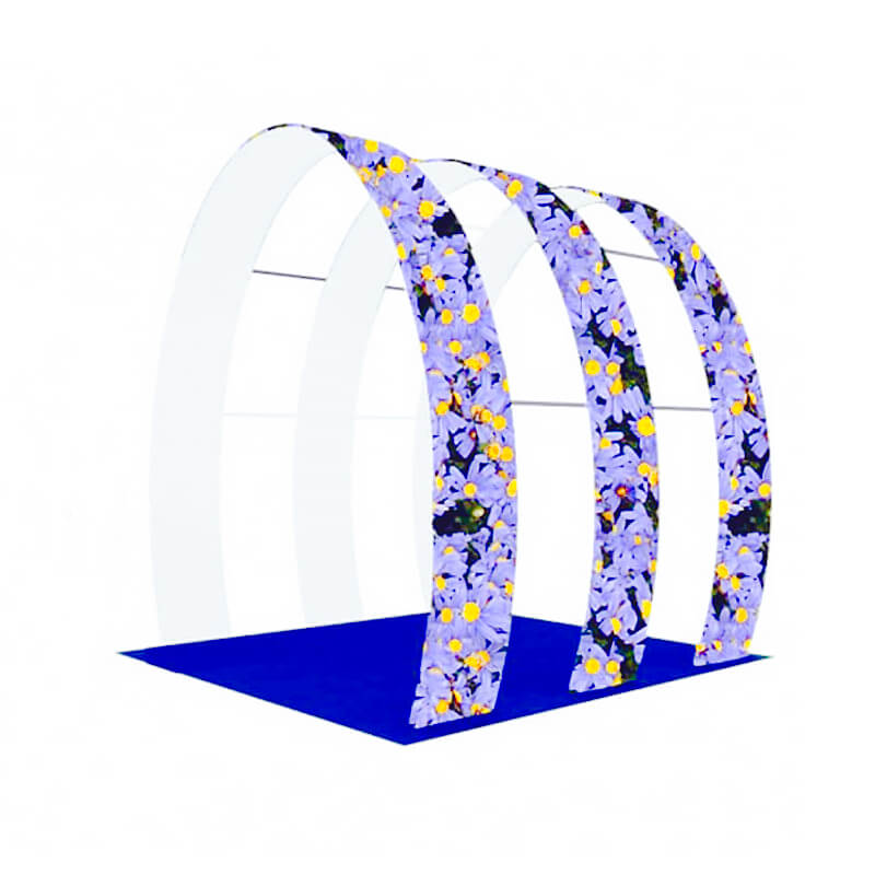 Row Wedding Arch Display E03H3