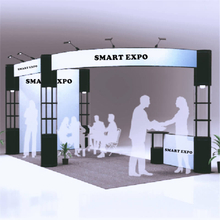 Standard 20ft*10ft Trade Fair Display Stand E01B2