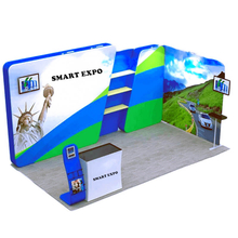 10ftx20ft Exhibition Kiosk E01C2-33