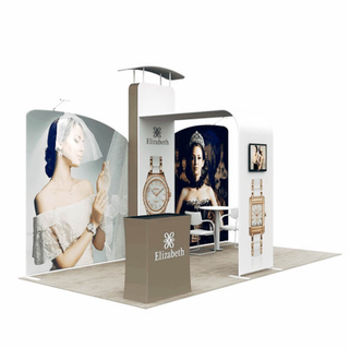 10x20 Booth Display E01C2-2