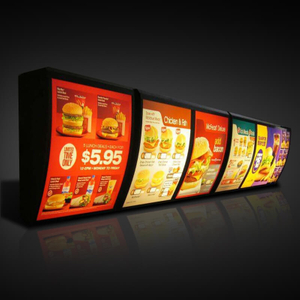 Curved Menu Board E04J